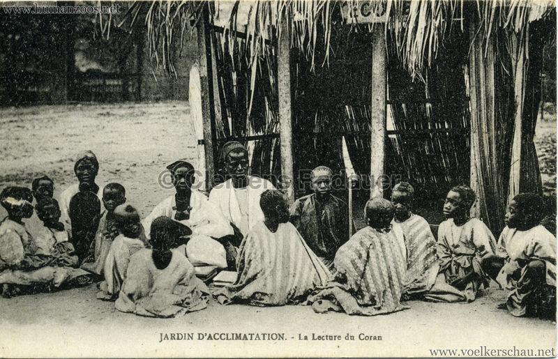 Jardin d'Acclimatation - La Lecture du Coran