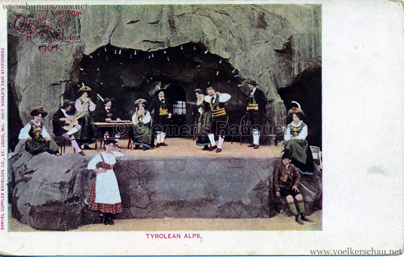 1904 St. Louis World's Fair - Tyrolean Alps