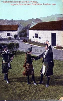 1909 Imperial International Exhibition - Scottish Village - Highland Dancing