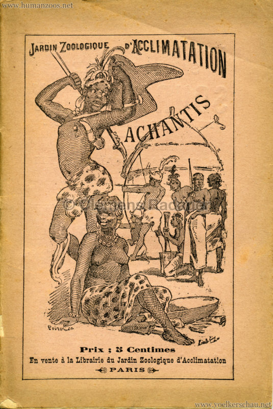 1887 Achantis - Paris Jardin d'Acclimatation