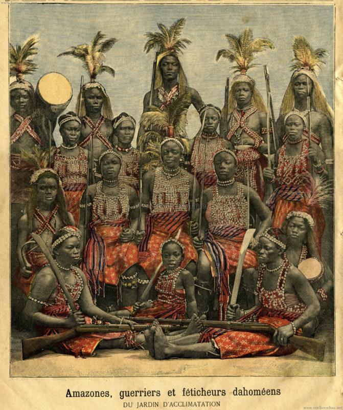 1891-02-28-le-petit-journal-amazones-guerriers-et-feticheurs-dahomeens-du-jardin-dacclimatation-detail