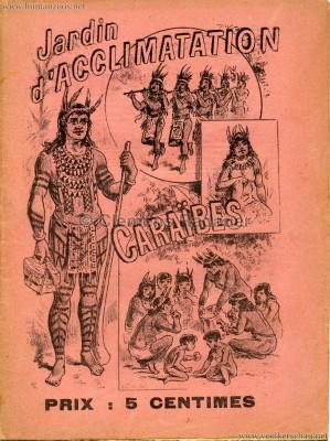 1892 Caraibes - Jardin d'Acclimatation PROGRAMMHEFT