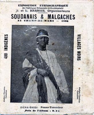 1896 Exposition Ethnographique de l'Afrique occidentale et orientale