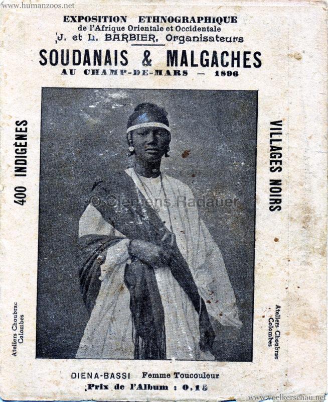 1896 Exposition Ethnographique de l'Afrique occidentale et orientale - Champs de Mars 1