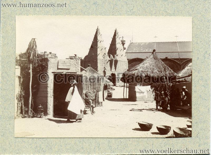 1896 Exposition Ethnographique de l'Afrique occidentale et orientale - Champs de Mars FOTO S2 1
