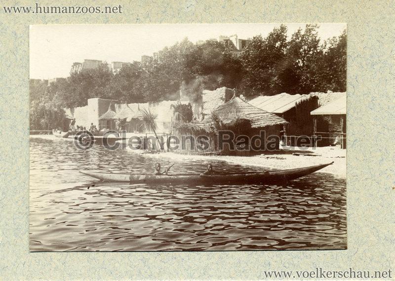 1896 Exposition Ethnographique de l'Afrique occidentale et orientale - Champs de Mars FOTO S2 2