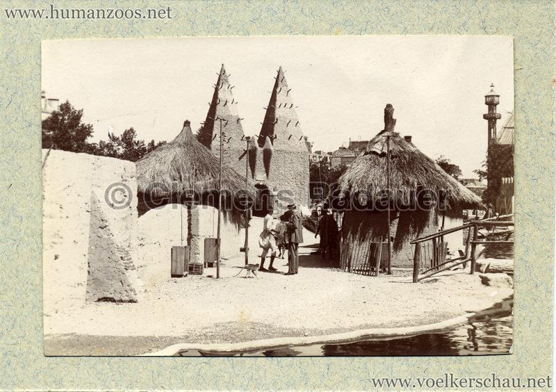 1896 Exposition Ethnographique de l'Afrique occidentale et orientale - Champs de Mars FOTO S2 3