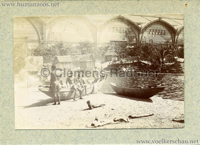 1896 Exposition Ethnographique de l'Afrique occidentale et orientale - Champs de Mars FOTO S2 4