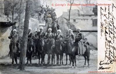 1900 E. Gehring's Kaukasisch-ossetinische Tscherkessen 3