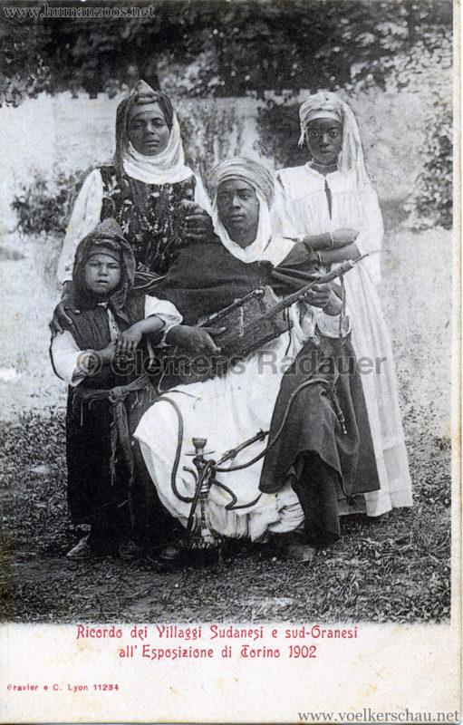 1902 Esposizione di Torino - Villaggi Sudanesi e Sud-Oranesi 4