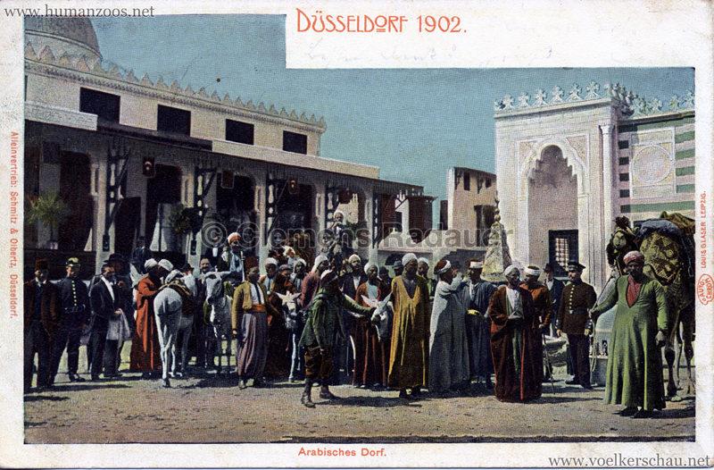 1902 Industrie- & Gewerbeausstellung Düsseldorf - Arabisches Dorf