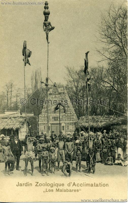 1902 Jardin Zoologique d'Acclimatation - Les Malabares - Stabartisten 2