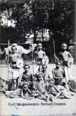 1907 (?) Carl Hagenbecks Somali-Truppe VS