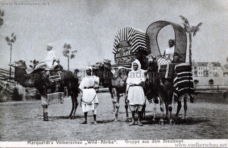 1907:1908 Marquardt's Völkerschau