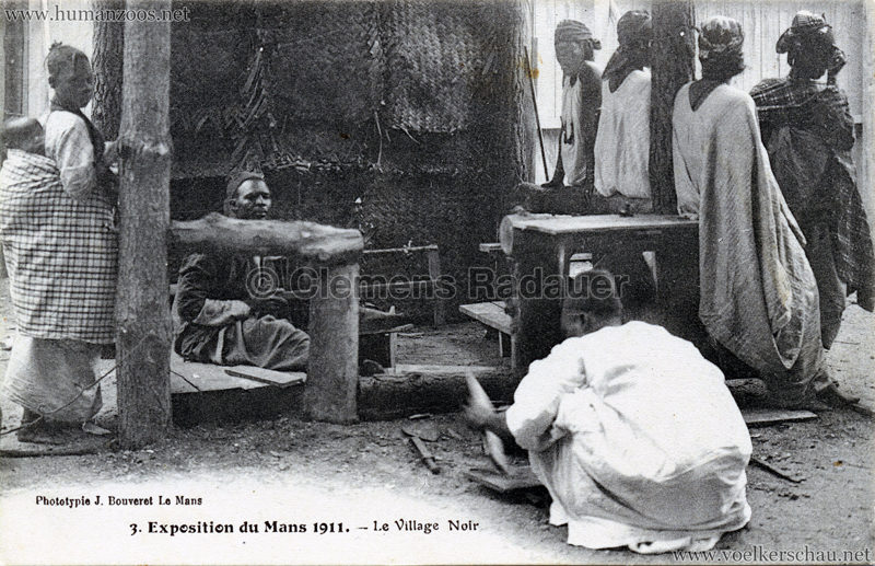1911 Exposition du Mans - Le Village Noir - 3