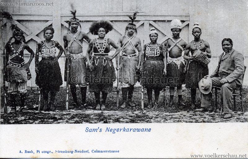 Sam's Negerkarawane