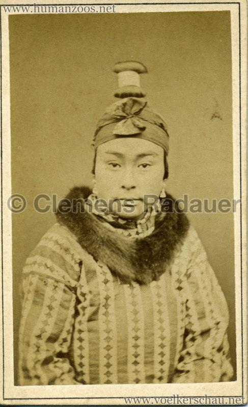 1881 (?) Hagenbeck Eskimo 2 - CDV - Adrian Jacobsen VS