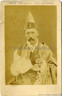 1883 Kalmouks Jardin d'Acclimatation CDV 6
