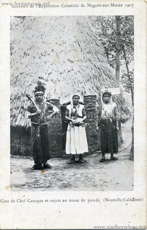 1907 Exposition Coloniale de Nogent-sur Marne - Famille Canaque 3