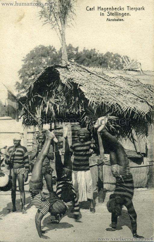 1908 (?) Carl Hagenbecks Tierpark in Stellingen. Völkerschau Indien - 427 (???