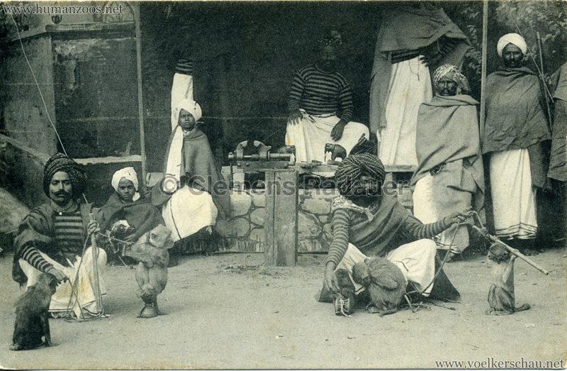 1911:1912 Gustav Hagenbeck's grösste indische Völkerschau der Welt -