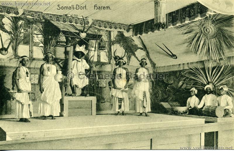 1912 Somali-Dorf - Harem