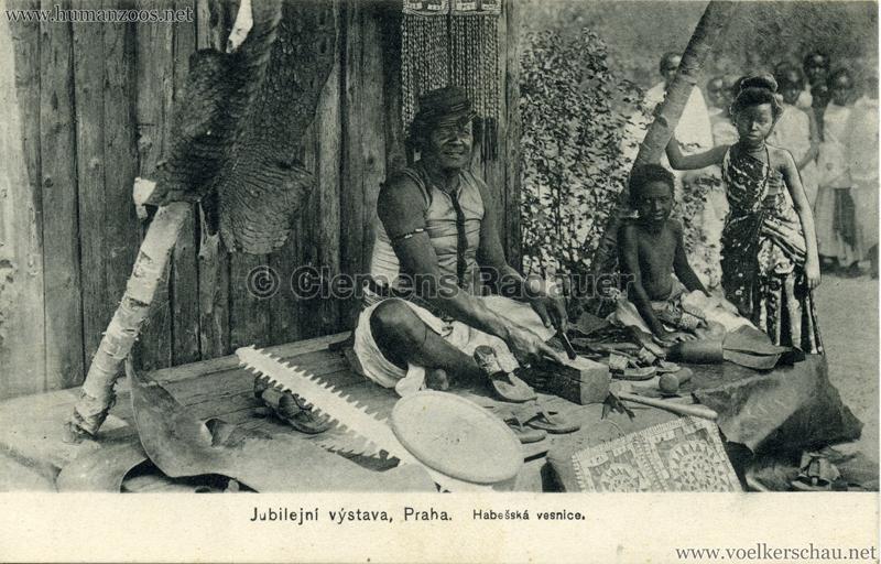 Jubilejni vystava Praha. Habesska vesnice 7