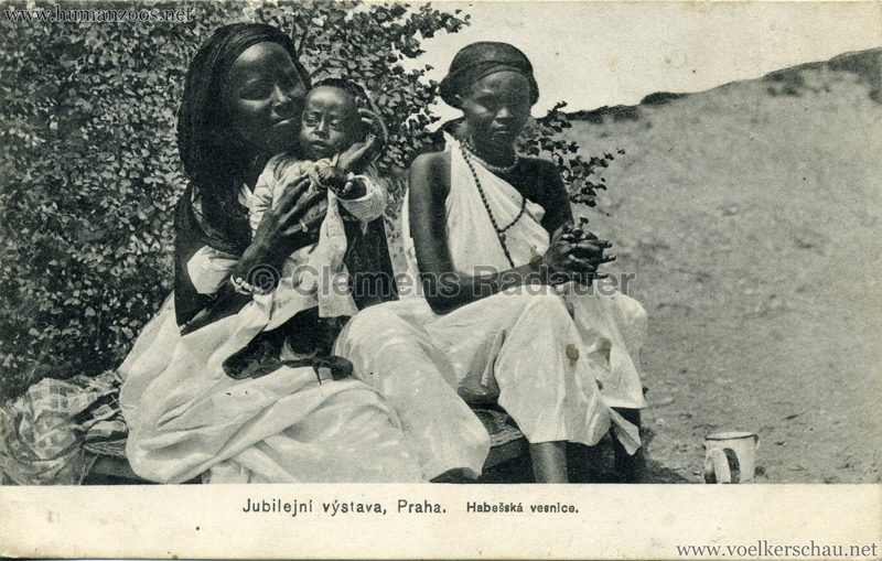 Jubilejni vystava Praha. Habesska vesnice 8