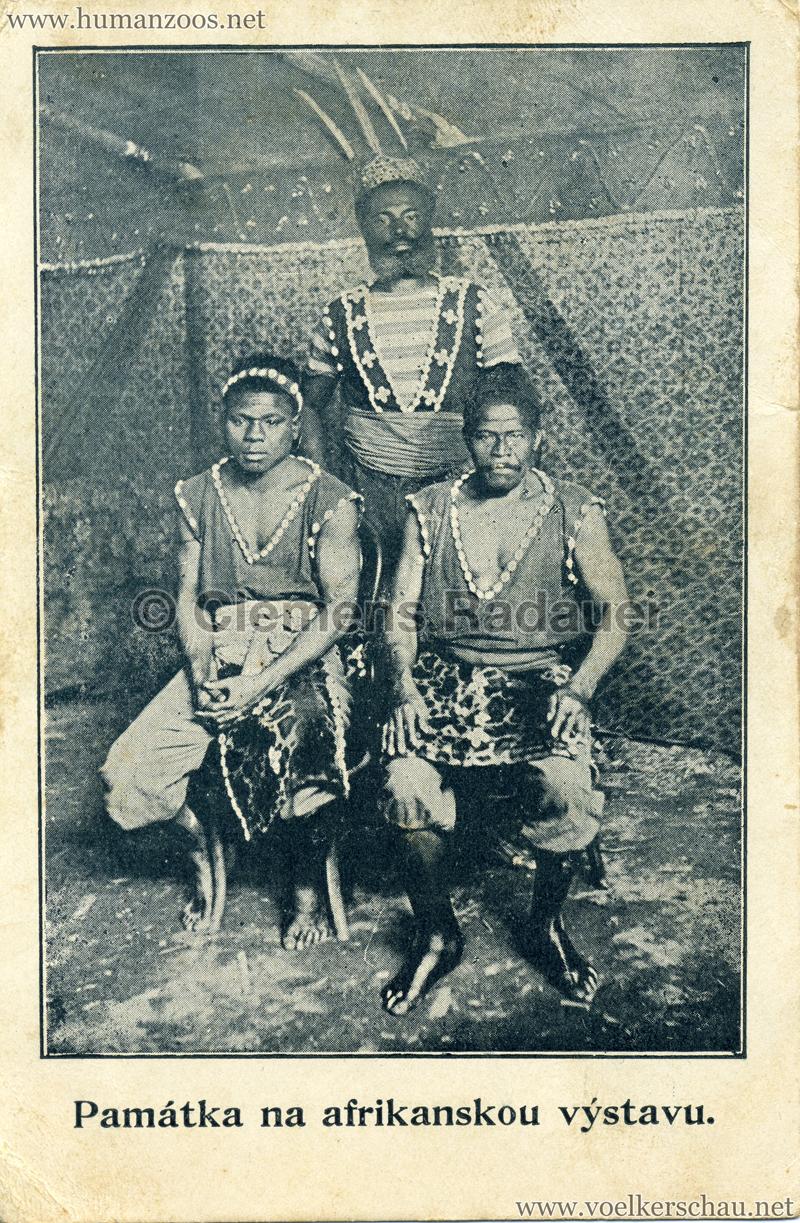 Pamatka na afrikanskou vystavu