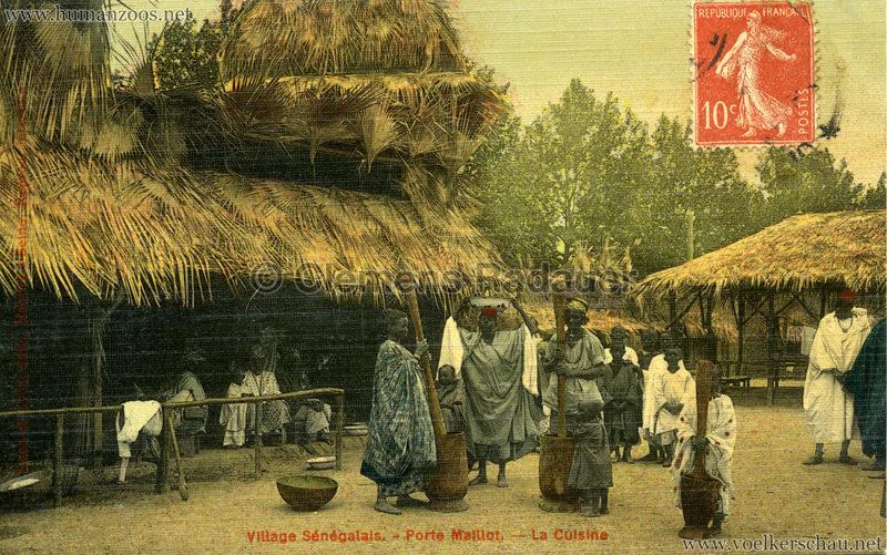 Porte Maillot - Village Sénégalais - La Cuisine farbe