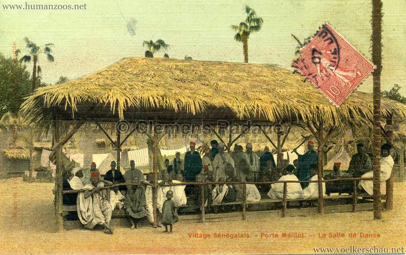 Porte Maillot - Village Sénégalais - La Salle de Danse farbe