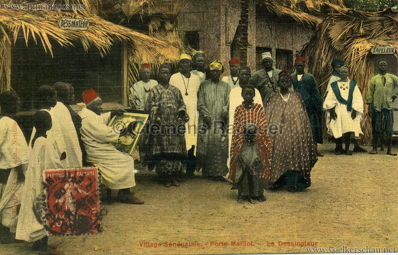 Porte Maillot - Village Sénégalais - Le Dessinateur farbe
