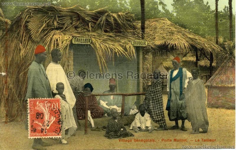 Porte Maillot - Village Sénégalais - Le Tailleur farbe