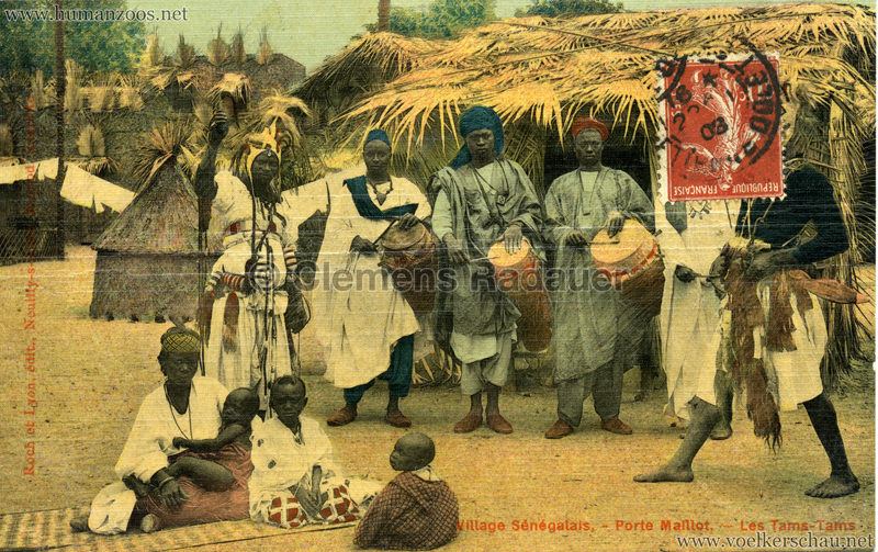 Porte Maillot - Village Sénégalais - Les Tams-Tams farbe