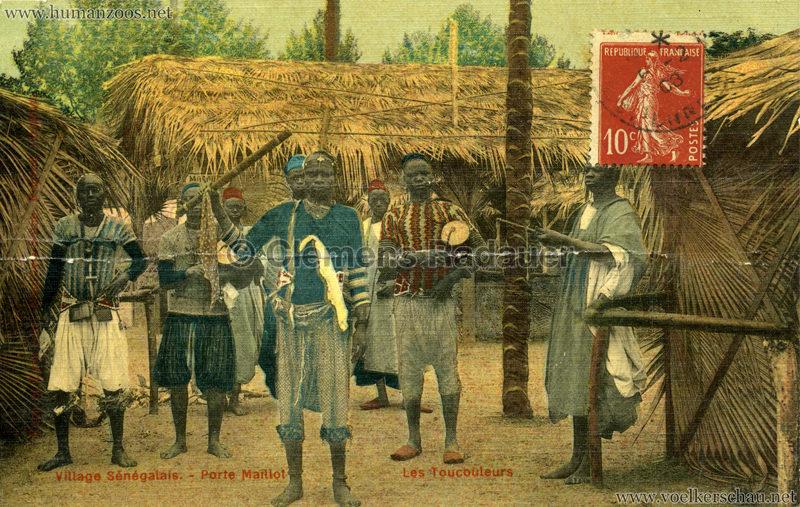 Porte Maillot - Village Sénégalais - Les Toucouleurs farbe