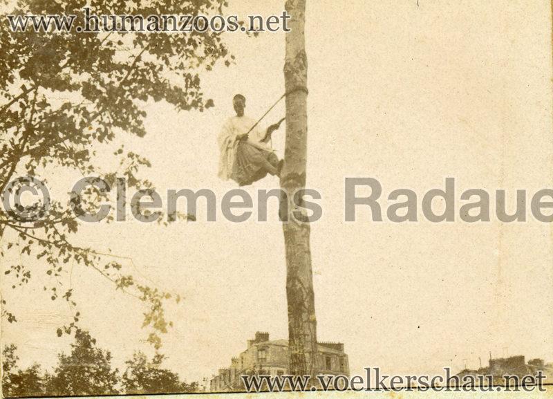 1896 Exposition Ethnographique de l'Afrique occidentale et orientale - Champs de Mars FOTO 1