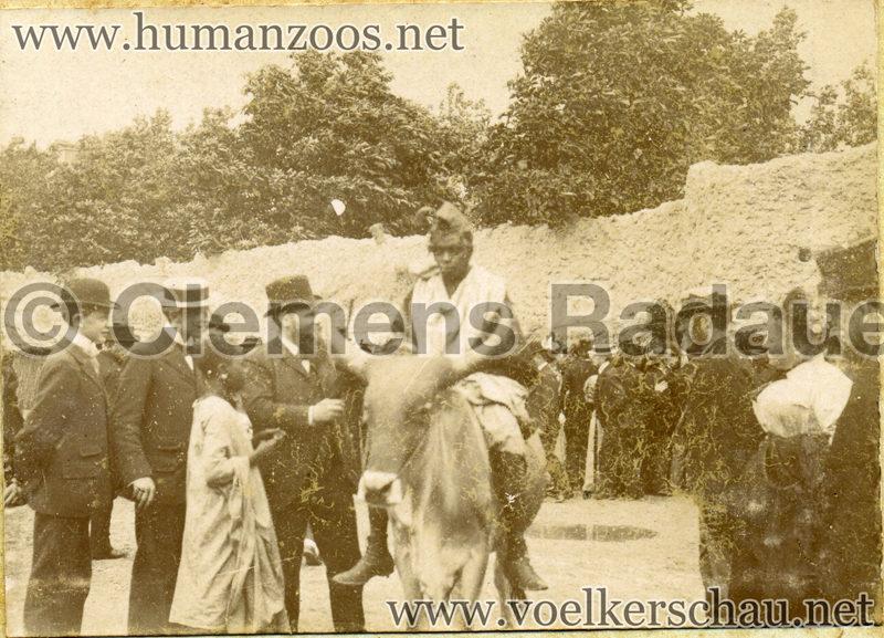 1896 Exposition Ethnographique de l'Afrique occidentale et orientale - Champs de Mars FOTO 2