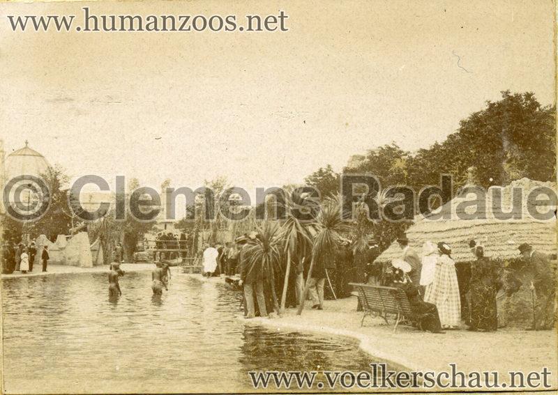 1896 Exposition Ethnographique de l'Afrique occidentale et orientale - Champs de Mars FOTO 3