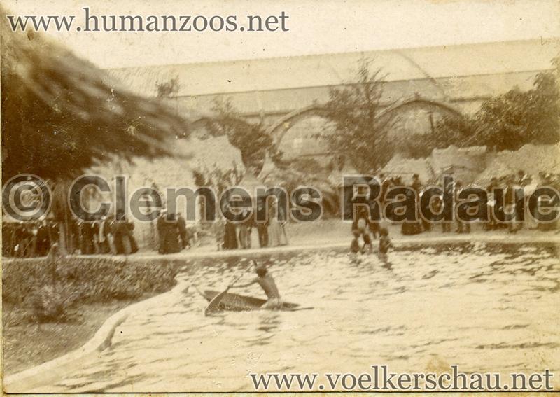 1896 Exposition Ethnographique de l'Afrique occidentale et orientale - Champs de Mars FOTO 4