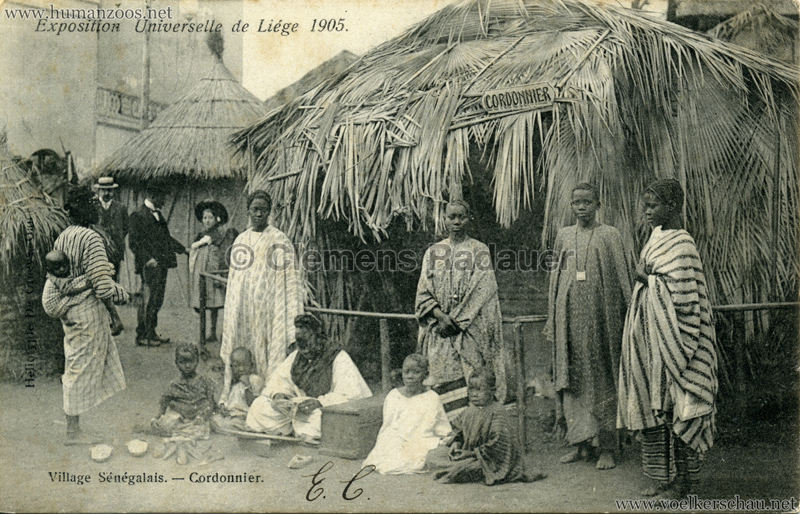 1905 Exposition de Liège - Village Sénégalais - Cordonnier V 2