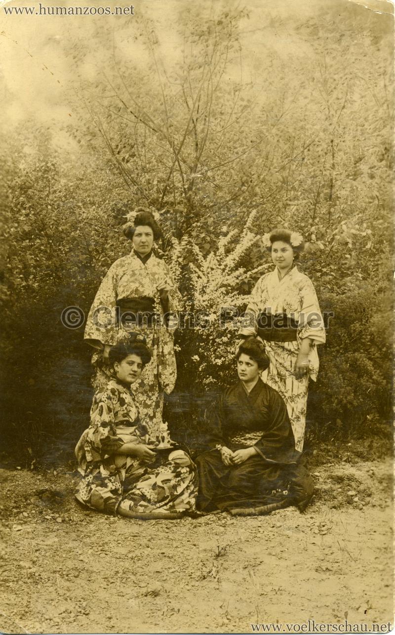 1908 Jubilejni vystava v Praze - Pozdrav z Japonské kavárny a cajovny