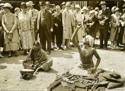 1926 John Hagenbeck's Indienschau - PRESSEFOTO Berlin VS