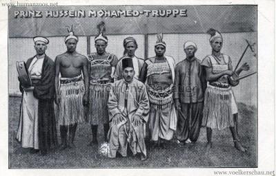 Prinz Hussein Mohamed-Truppe - Afrikanerschau Hussein & Milingue
