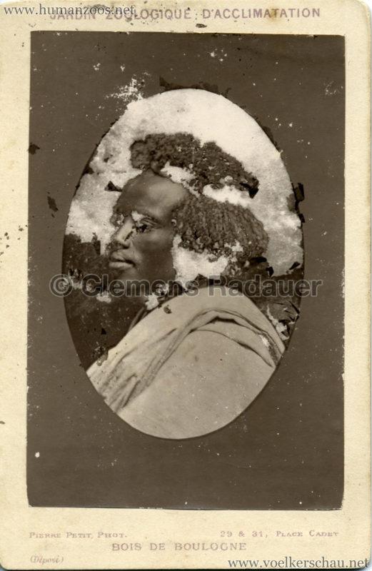 1879 (?) Jardin Zoologique  d'Acclimatation - Nubiens (?) 5