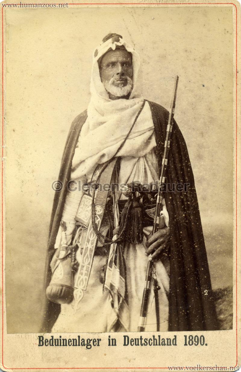 1890 Beduinenlager in Deutschland - 2. Alter Beduine