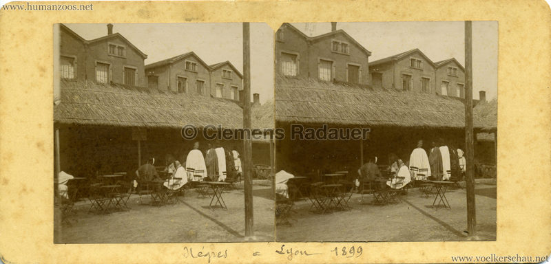 1899 Lyon - Village Sénégalais 1