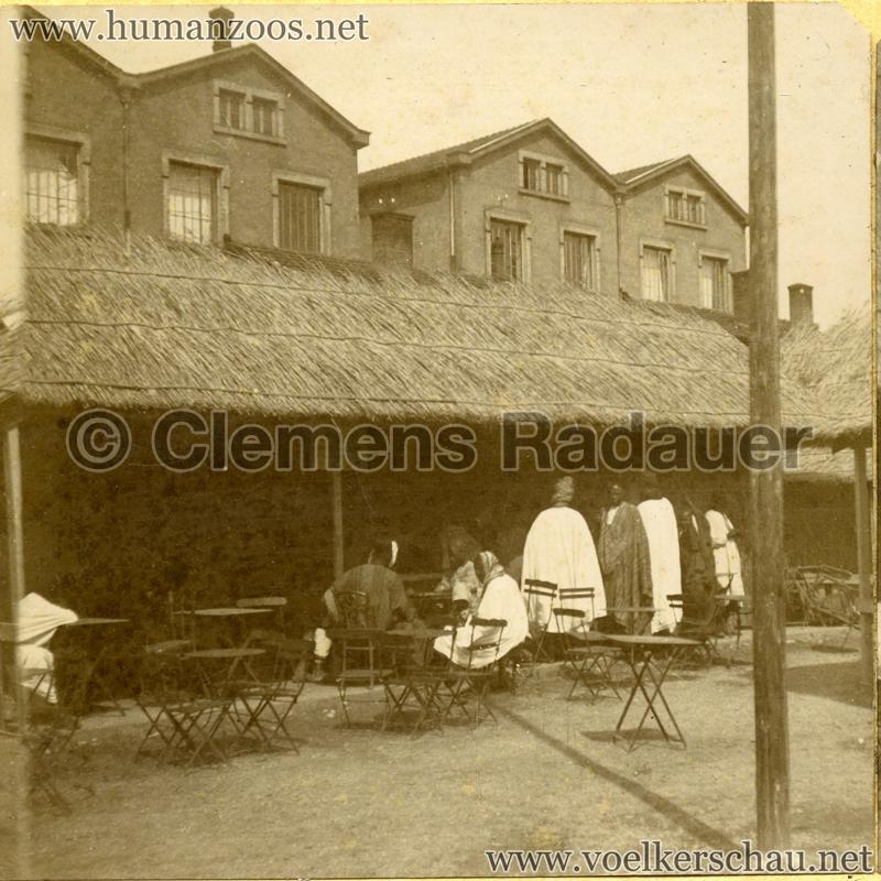 1899 Lyon - Village Sénégalais 1 Detail