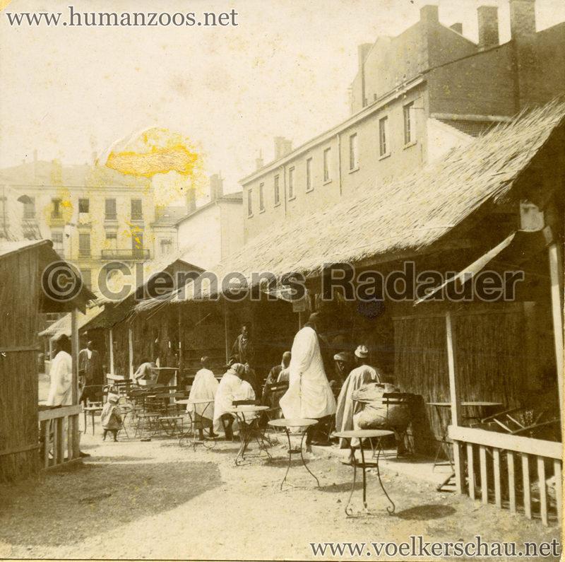 1899 Lyon - Village Sénégalais 2 Detail