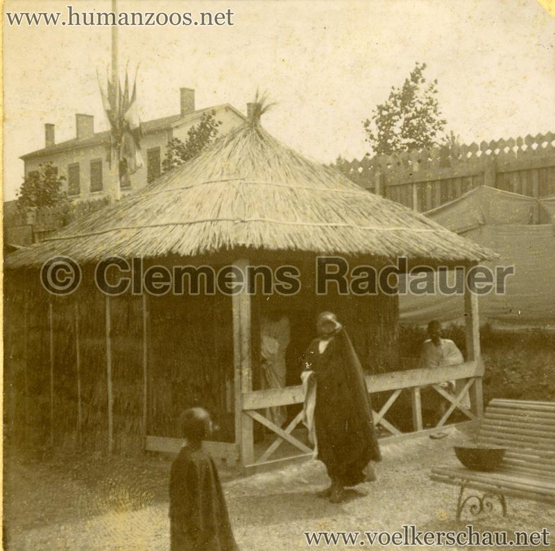 1899 Lyon - Village Sénégalais 3 Detail