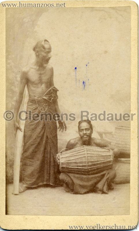 1885 Die Singhalesen der Hagenbeck'schen Ceylon-Expedition 1